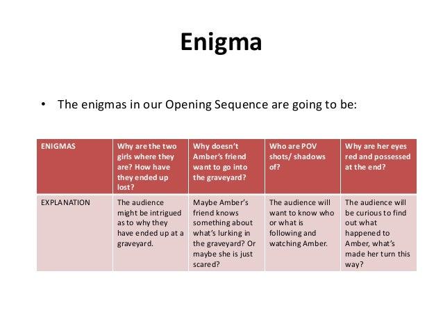enigma final draft