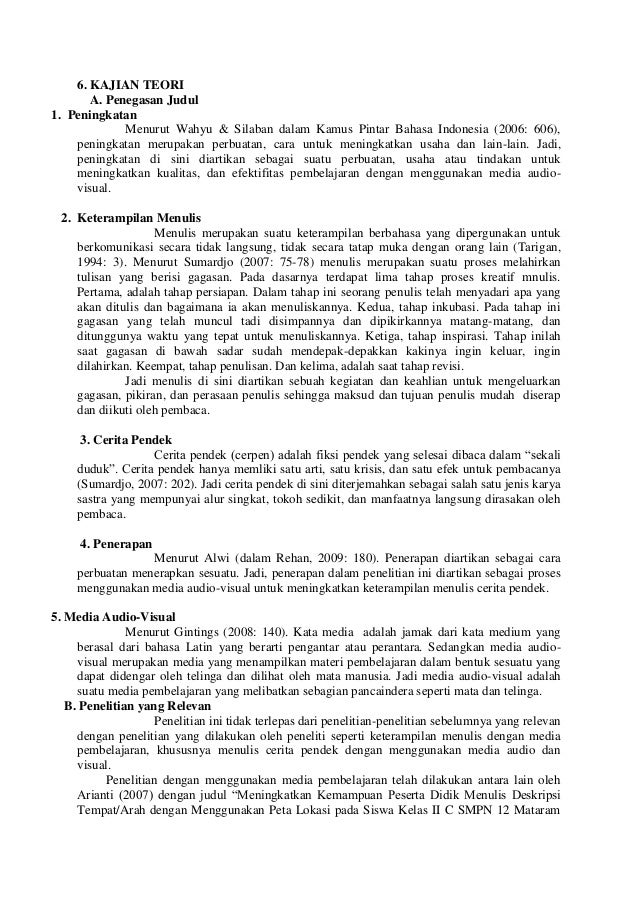 Media Pembelajaran Menggunakan Audio Visual Modul 3 Jenis Jenis Media Pembelajaran Audio Visual