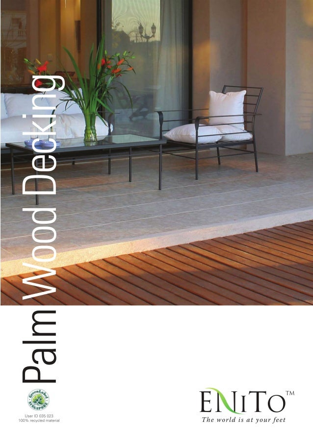 Enito Coconut Palm Wood Decking
