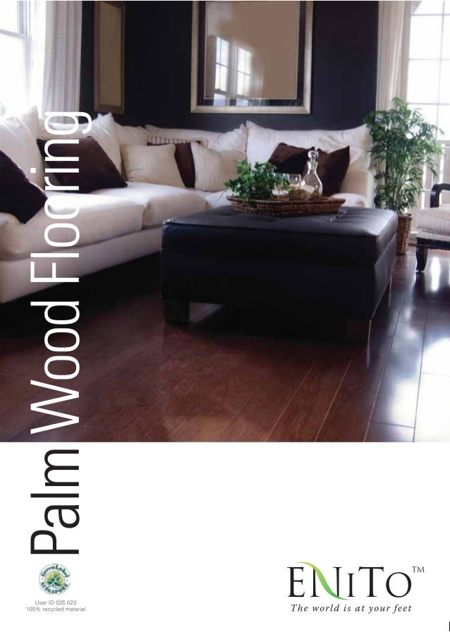Enito Coconut Palm Wood Flooring