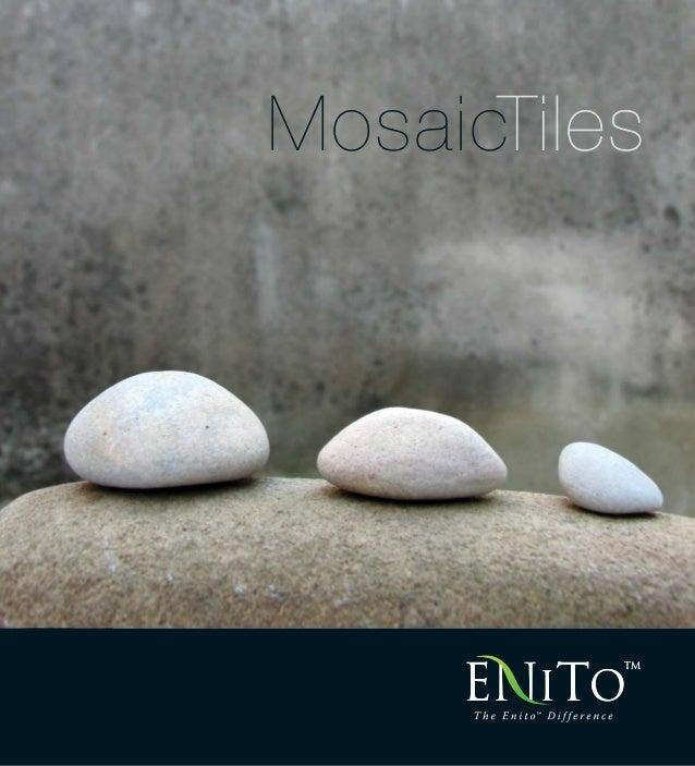 Enito Stone Mosaic Brochure