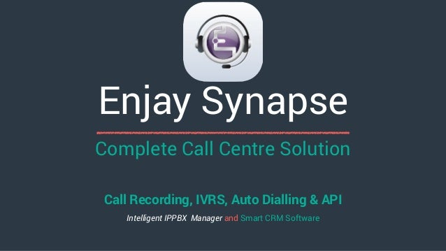 Complete Call Centre Solution Call Recording, IVRS, Auto Dialling & API Intelligent IPPBX Manager and Smart CRM Software E...