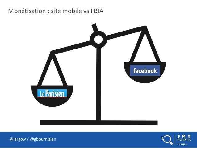 Monétisation : site mobile vs FBIA @largow / @gbournizien