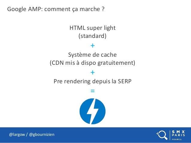@largow / @gbournizien HTML super light (standard) + Système de cache (CDN mis à dispo gratuitement) + Pre rendering depui...