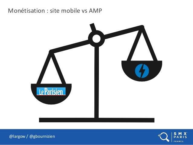 Monétisation : site mobile vs AMP @largow / @gbournizien