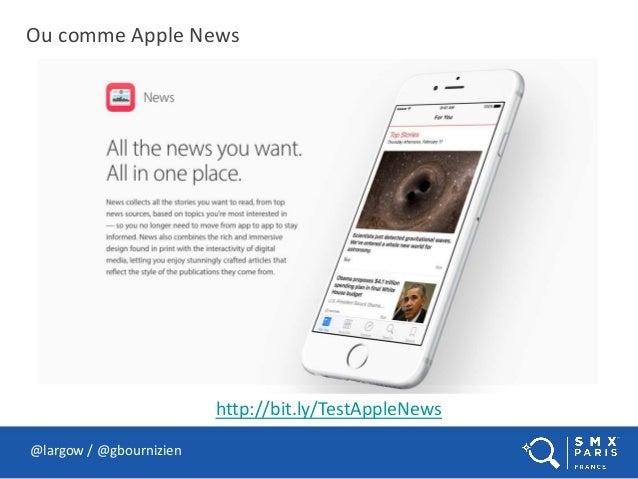 Ou comme Apple News @largow / @gbournizien http://bit.ly/TestAppleNews