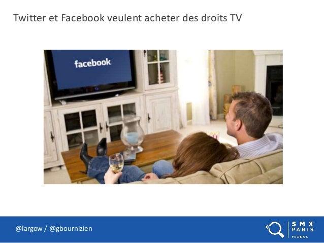 Twitter et Facebook veulent acheter des droits TV @largow / @gbournizien