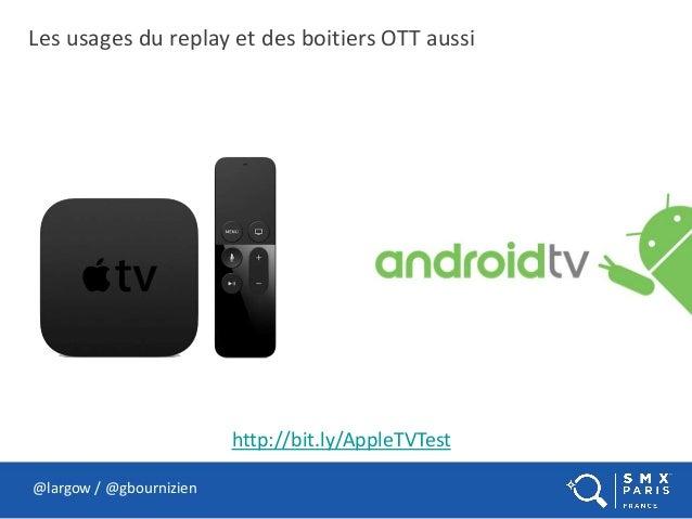 Les usages du replay et des boitiers OTT aussi @largow / @gbournizien http://bit.ly/AppleTVTest