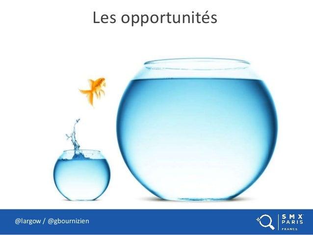 Les opportunités @largow / @gbournizien