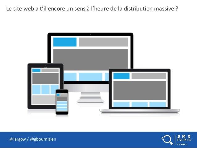 Le site web a t'il encore un sens à l'heure de la distribution massive ? @largow / @gbournizien