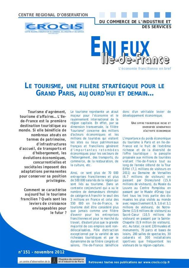 CENTRE REGIONAL D'OBSERVATION                                                     DU COMMERCE DE L'INDUSTRIE ET           ...