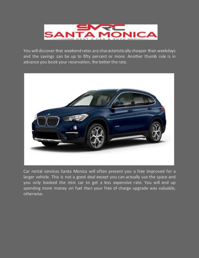 Rental Car Locations In Santa Monica