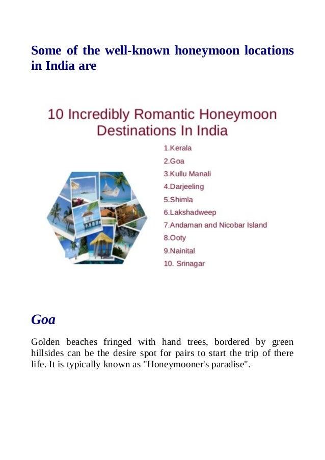 Enjoy honeymoon tour packages in flamingo travels Slide 2