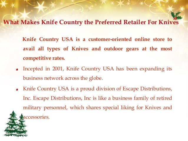 Enjoy New Year Discounts at Knife Country USA