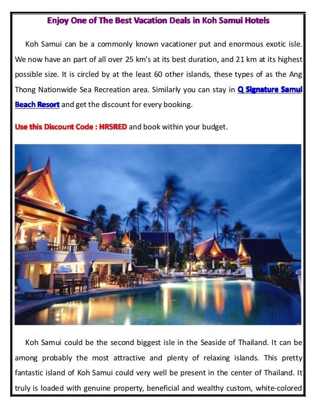 EnjoyEnjoyEnjoyEnjoy OneOneOneOne ofofofof TheTheTheThe BestBestBestBest VacationVacationVacationVacation DealsDealsDealsD...