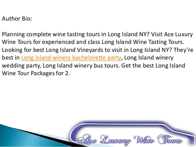 Wine Tasting Packages Long Island Ny