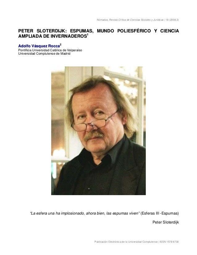 Nómadas. Revista Crítica de Ciencias Sociales y Jurídicas | 18 (2008.2) Publicación Electrónica de la Universidad Complute...