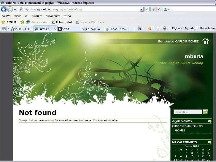 Enlace de mi blog con slishare<br />Es un sitio web<br />