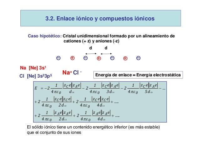 Enlace quimico III