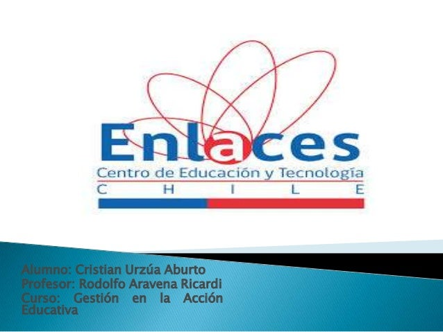 Alumno: Cristian Urzúa Aburto Profesor: Rodolfo Aravena Ricardi Curso: Gestión en la Acción Educativa