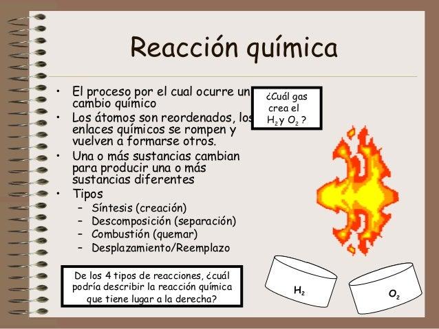 Enlaces qumicos y reacciones animado