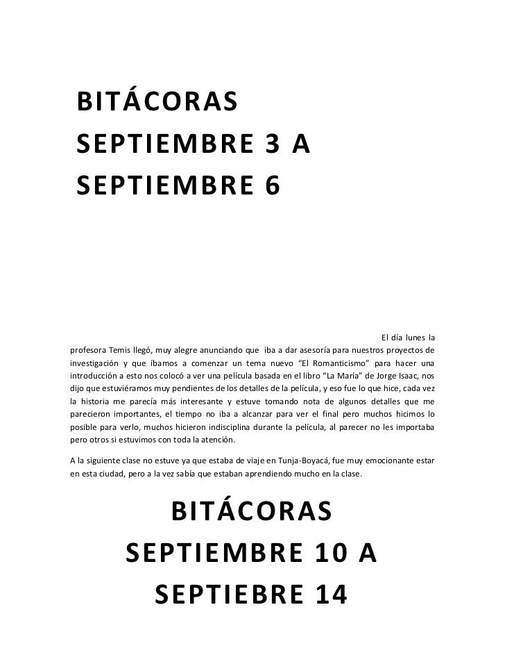 Bitácoras  Slide 2