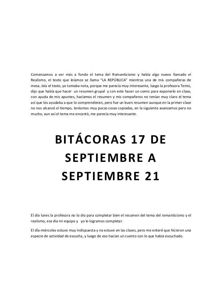 Bitácoras  Slide 3