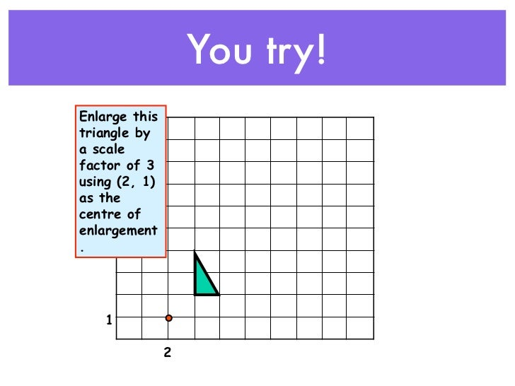 Enlargements - Ray Method