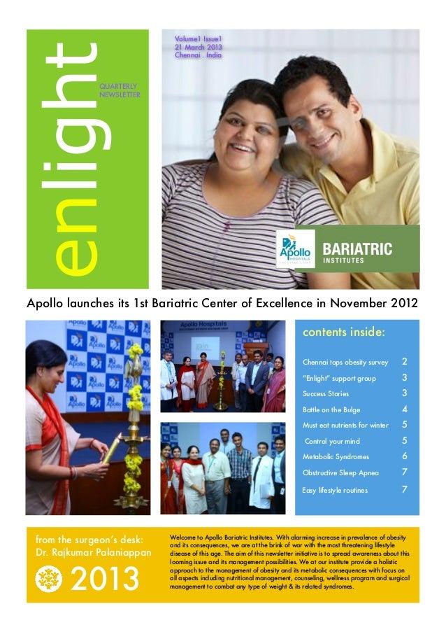 Volume1 Issue1enlight                             21 March 2013                             Chennai . India              Q...
