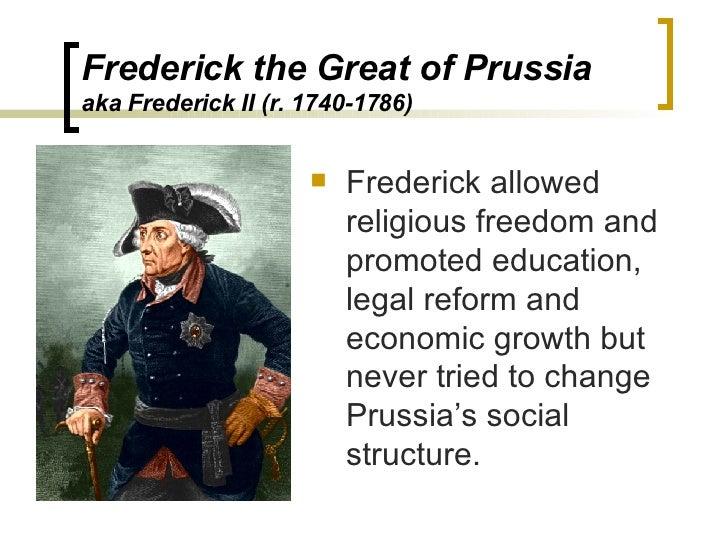 frederick ii enlightened despot