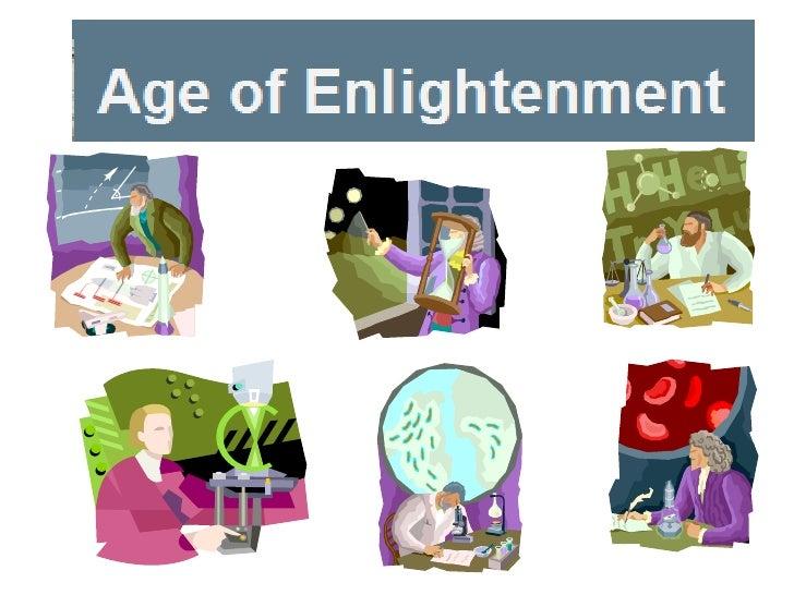 scientific revolution age of enlightenment
