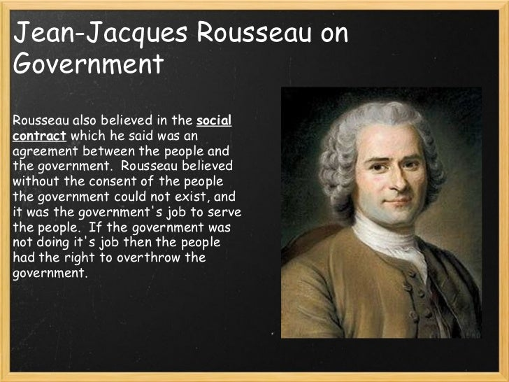 Jean Jacques Rousseau Beliefs Enlightenment overview...