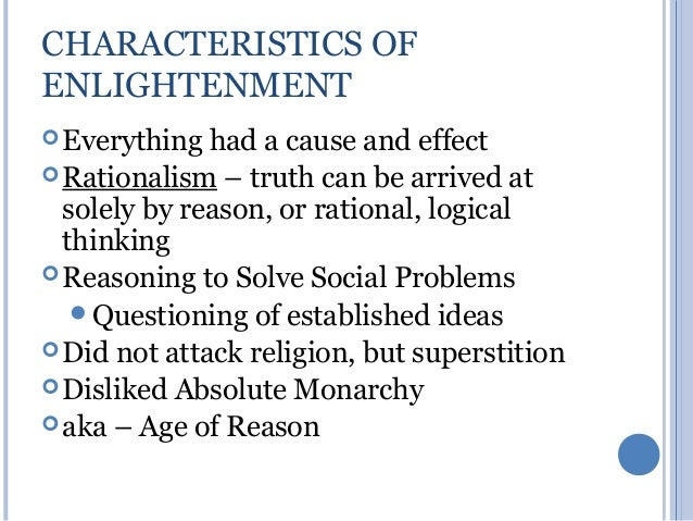 the different thinkers in the enlightenment era 2007-3-15 the age of enlightenment the  some ways to the enlightenment but markedly different in its  enlightenment thinkers showed great interest.