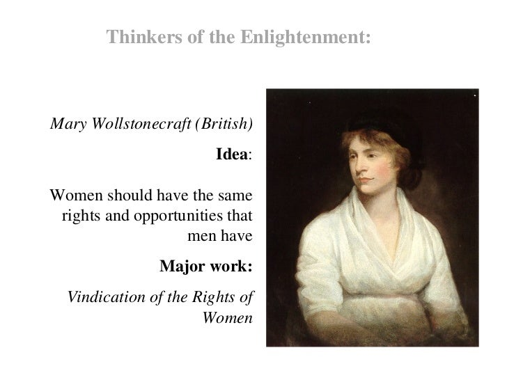 Significant Contribution of Mary Wollstonecraft to Feminism