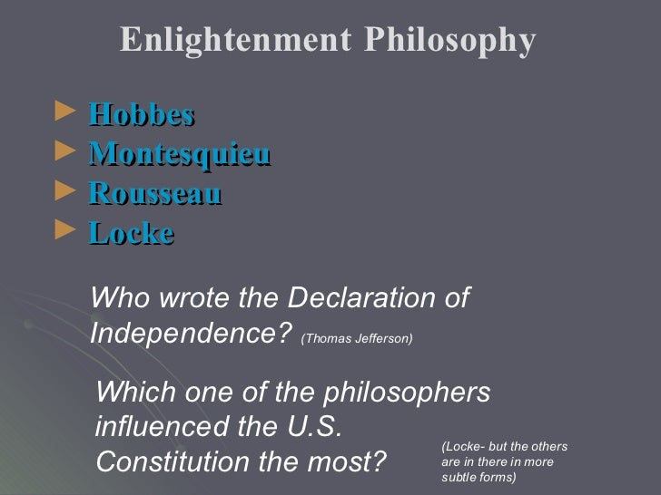 locke ideology and the declaration of That the john locke foundation is named after the 17th century english political philosopher is no mere coincidence the man was an intellectual titan, one whose thoughts and ideas can be found throughout our country's earliest political documents, including and especially the declaration of independence.