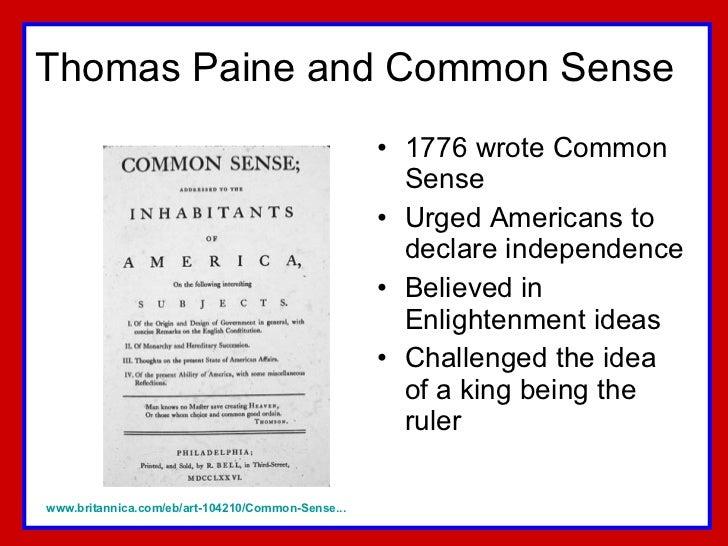 Precedence of the american revolution essay