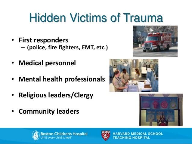 Confronting vicarious trauma