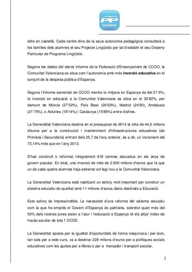 Enmienda valenciano 29.04.14 Slide 2
