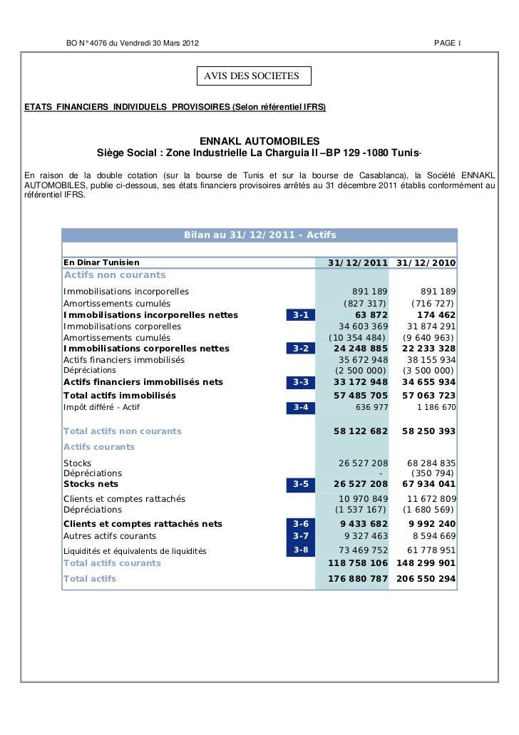 BO N° 4076 du Vendredi 30 Mars 2012                                                        PAGE 1                         ...