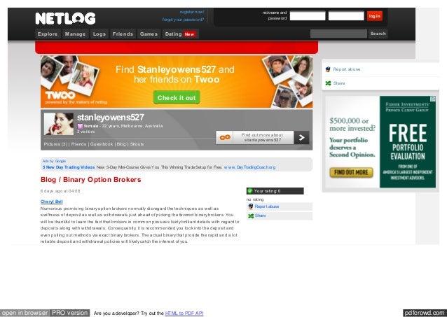 Netlog online dating grote online dating profielbeschrijvingen