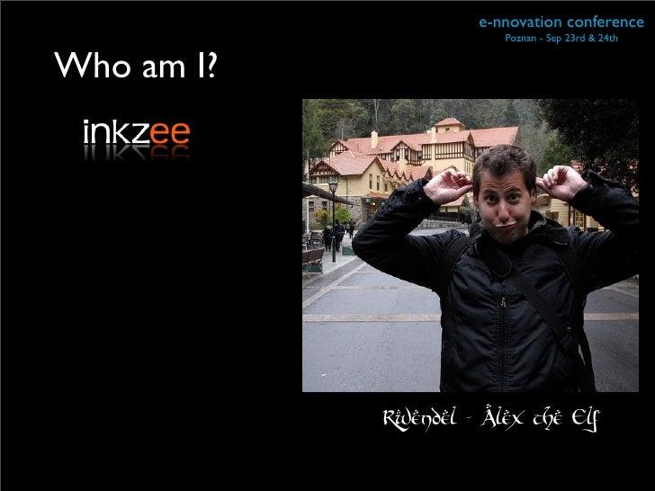 Ennovation talk Slide 2