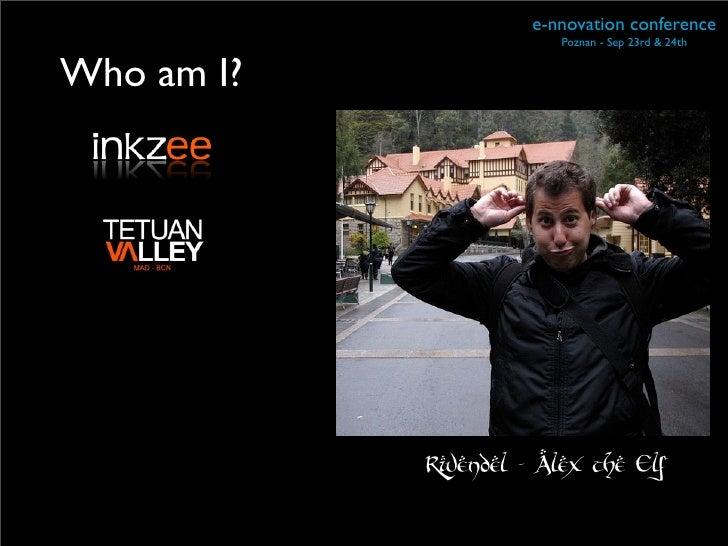 Ennovation talk Slide 3