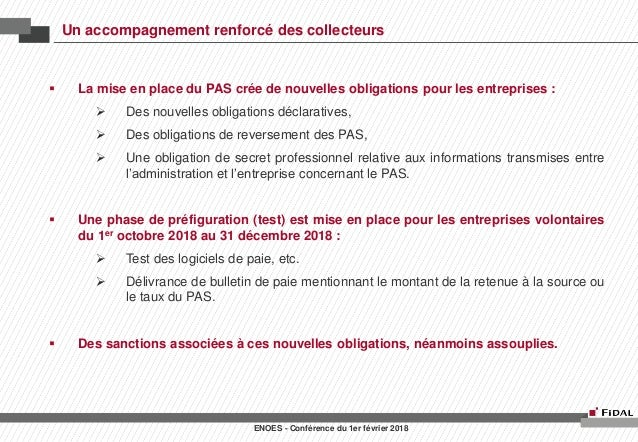 Conference Enoes Lois De Finances 2018 Et Rectificatives 2017