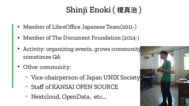 State of CJK issues of LibreOffice,2020 edition Slide 3