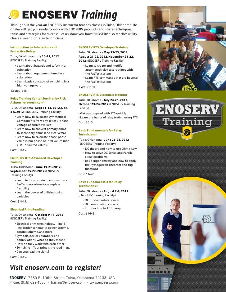Enoserv Training