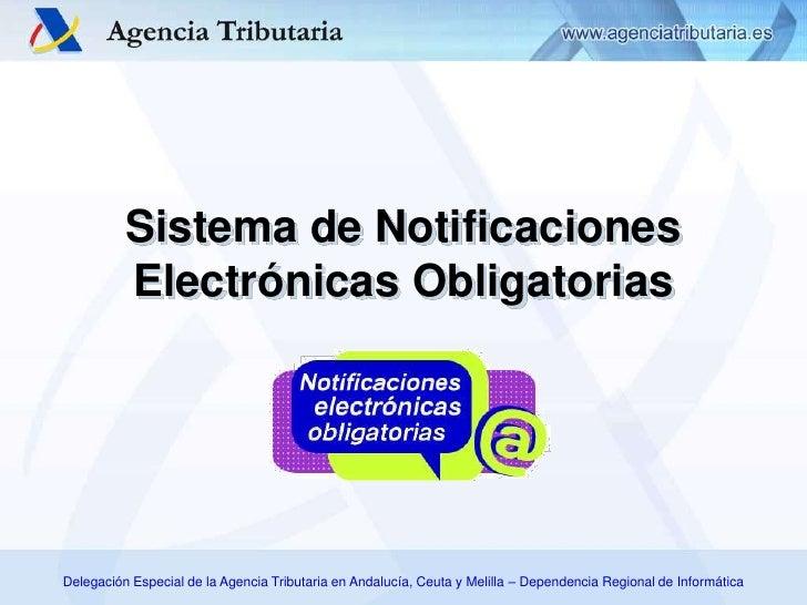 Sistema de Notificaciones Electrónicas Obligatorias