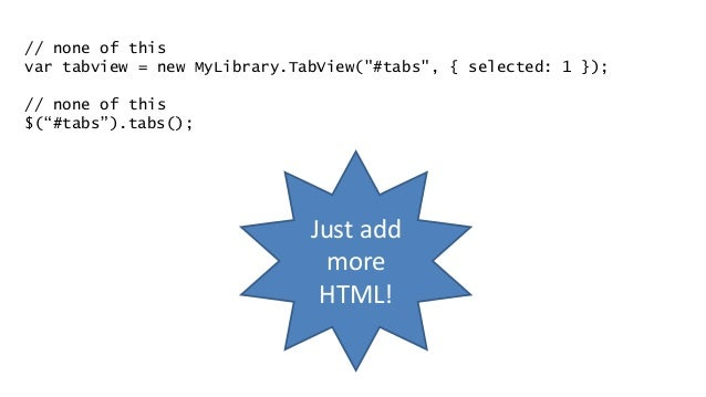 The 4 JavaScript Load Times • Primarily analytics • Small seed filesIn <head> • Anything needed by page load • Minimal as ...