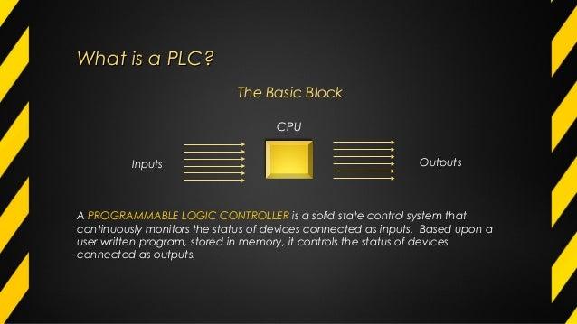 PLC  basic concepts Slide 2