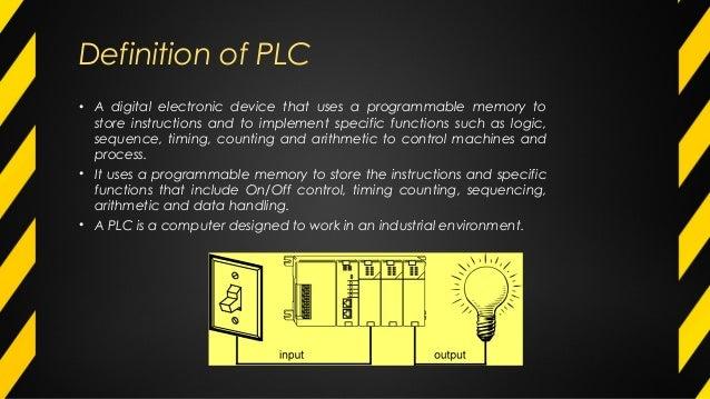 PLC  basic concepts Slide 3