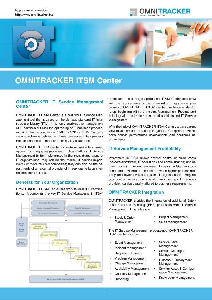 http://www.omninet.bizhttp://www.omnitracker.bizOMNITRACKER ITSM Center                                                   ...